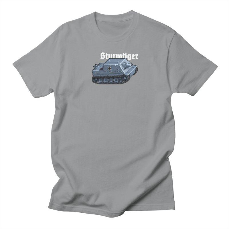 Sturmtiger Men's Regular T-Shirt by Pixel Panzers's Merchandise
