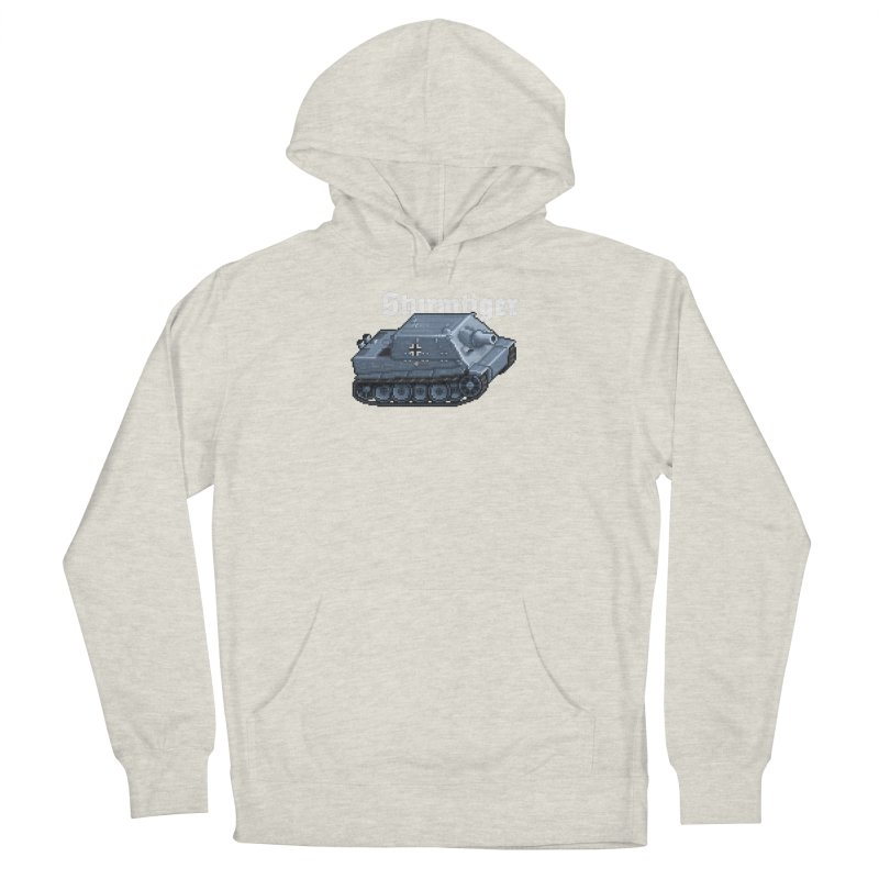 Sturmtiger Men's French Terry Pullover Hoody by Pixel Panzers's Merchandise