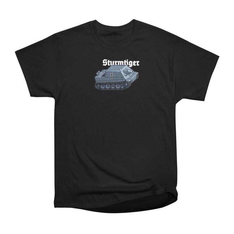 Sturmtiger Men's Heavyweight T-Shirt by Pixel Panzers's Merchandise