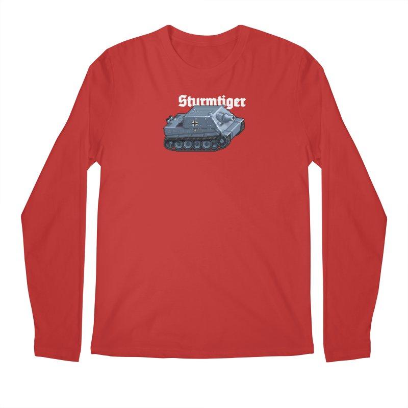 Sturmtiger Men's Regular Longsleeve T-Shirt by Pixel Panzers's Merchandise