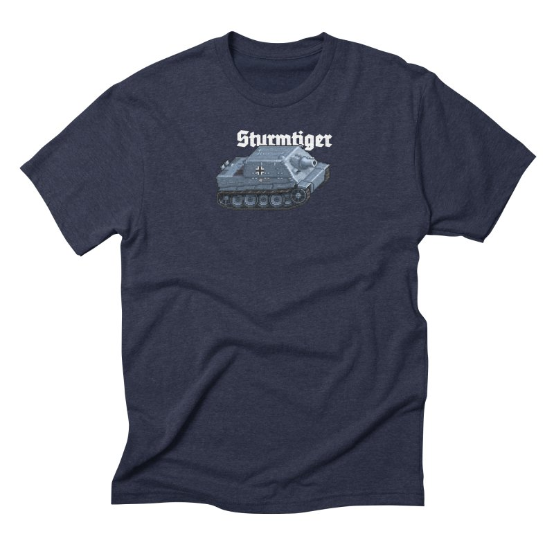 Sturmtiger Men's Triblend T-Shirt by Pixel Panzers's Merchandise