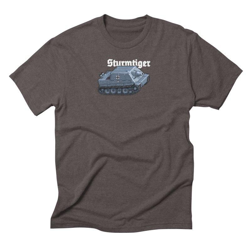 Sturmtiger Men's Triblend T-Shirt by Pixel Panzers's Merchandise