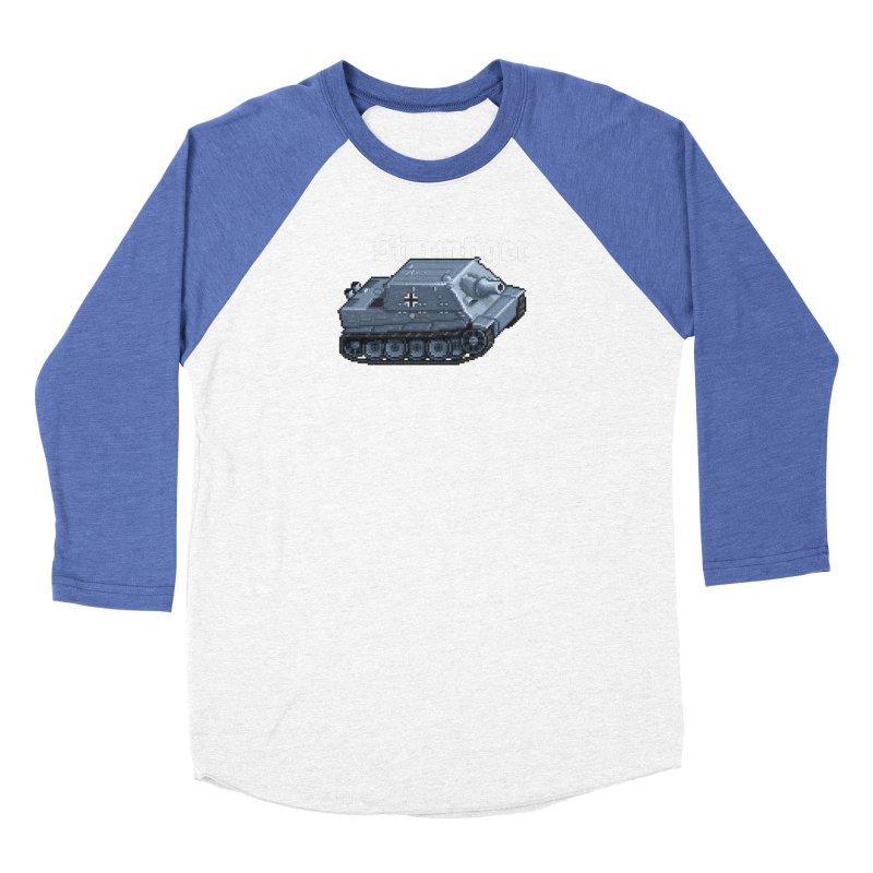 Sturmtiger Men's Baseball Triblend Longsleeve T-Shirt by Pixel Panzers's Merchandise