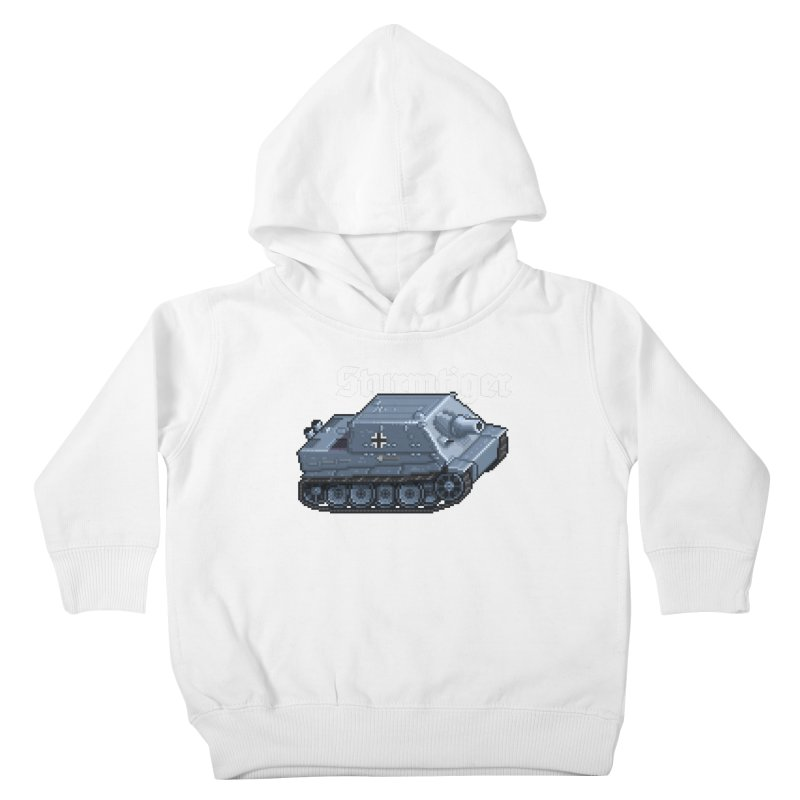 Sturmtiger Kids Toddler Pullover Hoody by Pixel Panzers's Merchandise