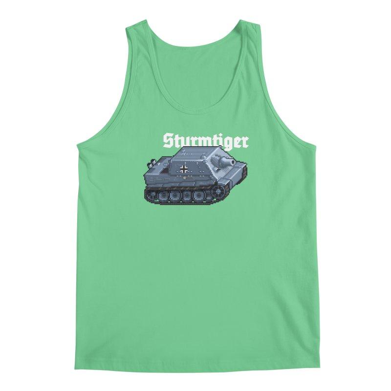 Sturmtiger Men's Regular Tank by Pixel Panzers's Merchandise