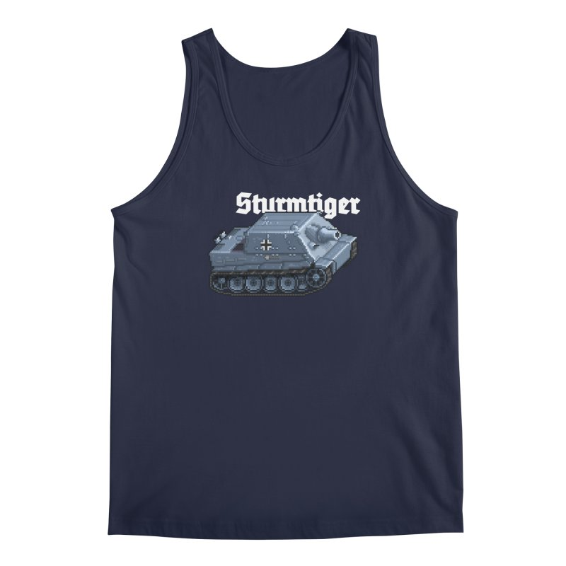 Sturmtiger Men's Regular Tank by Pixel Panzers's Merchandise