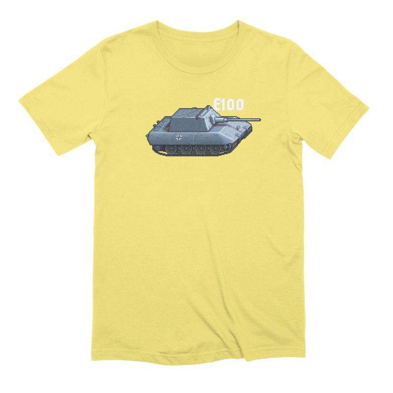 E-100 Krupp Men's Extra Soft T-Shirt by Pixel Panzers's Merchandise