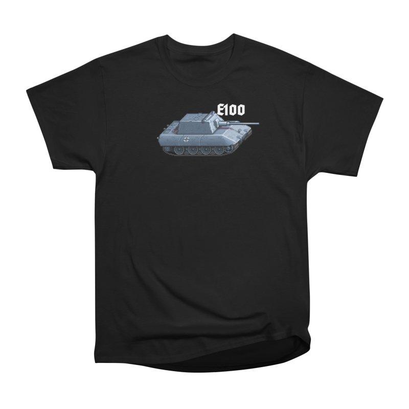 E-100 Krupp Men's Heavyweight T-Shirt by Pixel Panzers's Merchandise
