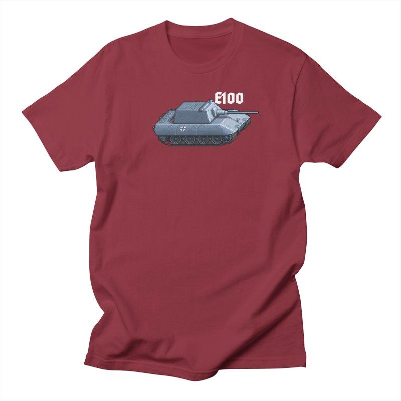 E-100 Krupp Men's T-Shirt by Pixel Panzers's Merchandise