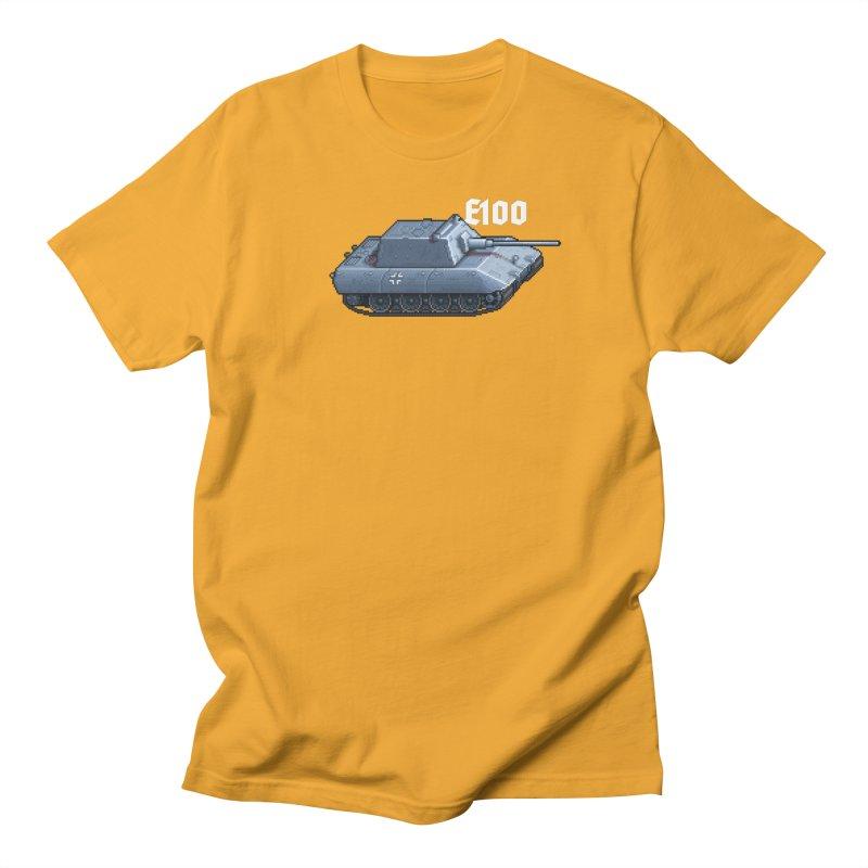 E-100 Krupp Men's Regular T-Shirt by Pixel Panzers's Merchandise