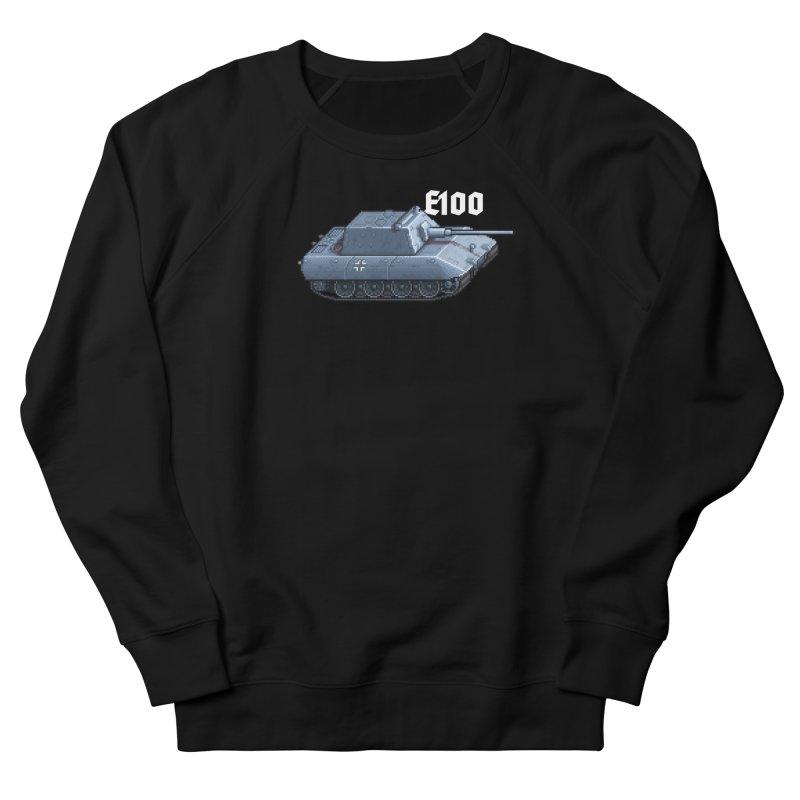 E-100 Krupp Men's French Terry Sweatshirt by Pixel Panzers's Merchandise