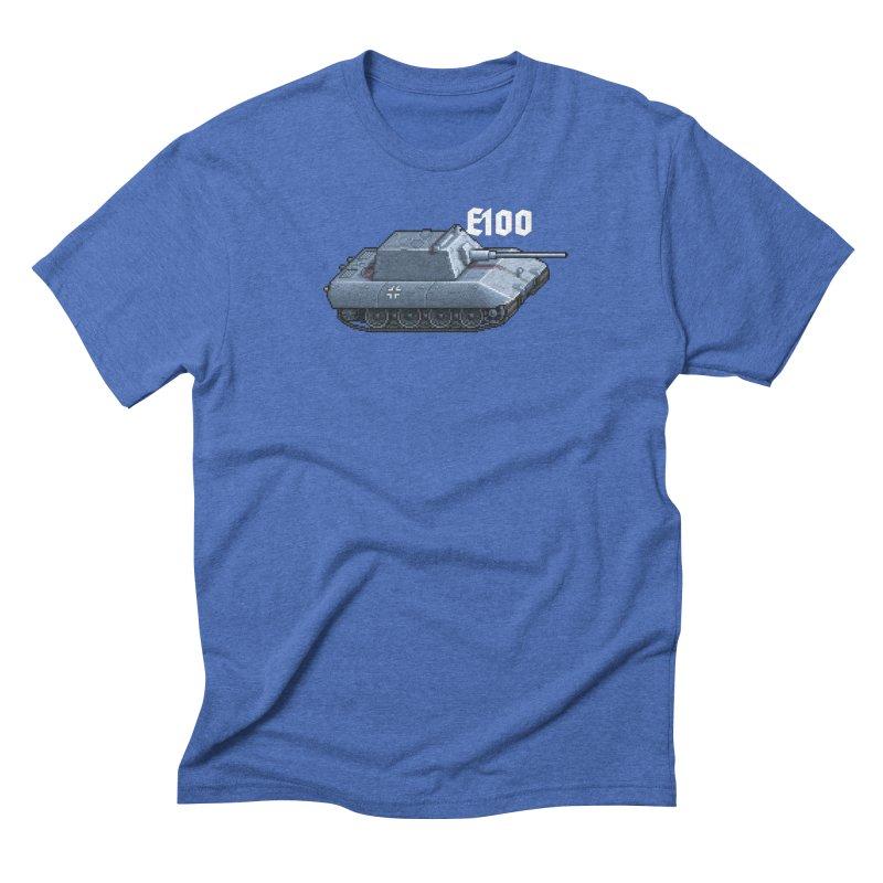E-100 Krupp Men's Triblend T-Shirt by Pixel Panzers's Merchandise