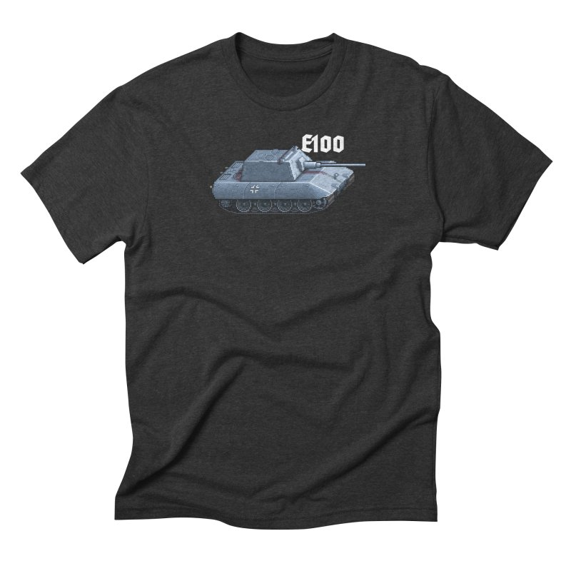 E-100 Krupp Men's Triblend T-Shirt by Pixel Panzers's Merchandise
