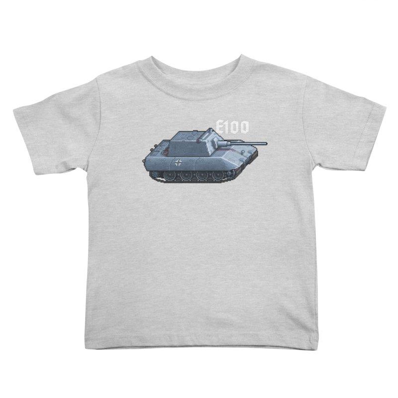 E-100 Krupp Kids Toddler T-Shirt by Pixel Panzers's Merchandise