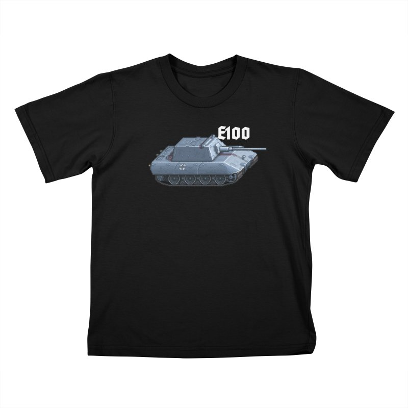 E-100 Krupp Kids T-Shirt by Pixel Panzers's Merchandise