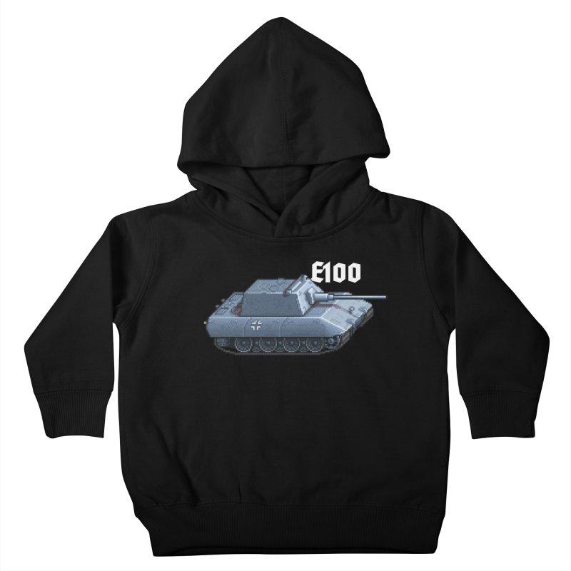 E-100 Krupp Kids Toddler Pullover Hoody by Pixel Panzers's Merchandise