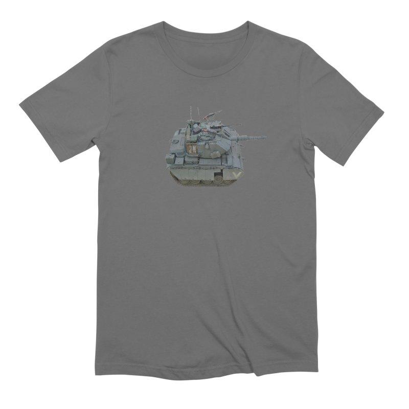 Magach 7C Mini Men's Extra Soft T-Shirt by Pixel Panzers's Merchandise
