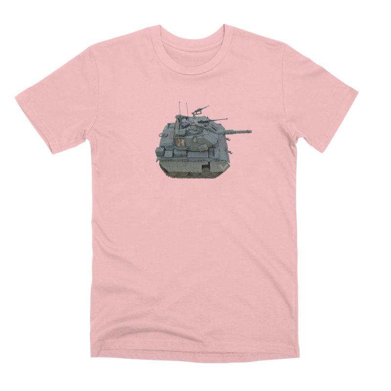 Magach 7C Mini Men's Premium T-Shirt by Pixel Panzers's Merchandise