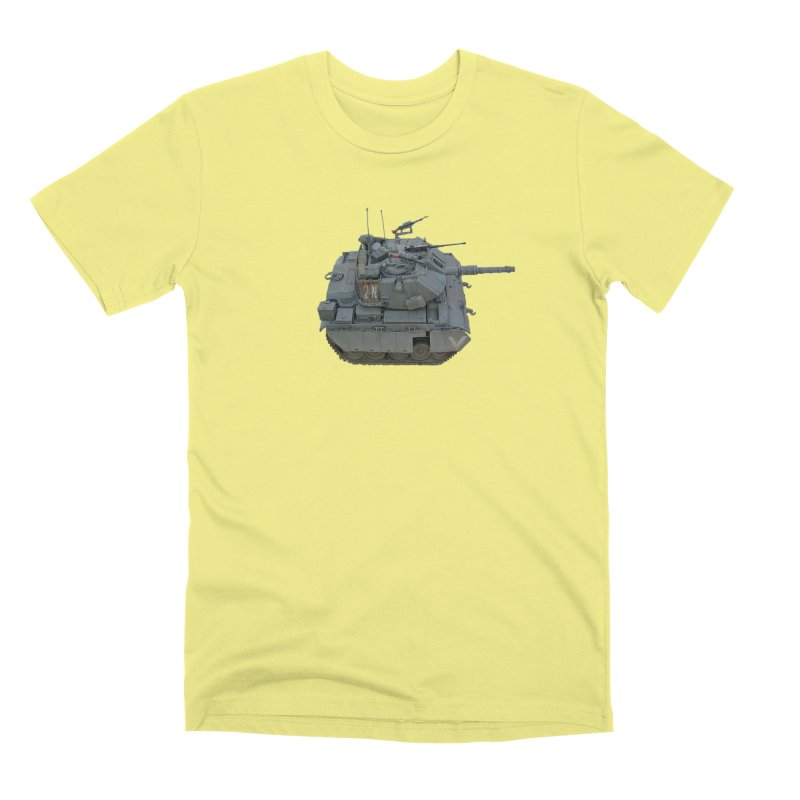Magach 7C Mini Men's Premium T-Shirt by Pixel Panzers's Merchandise
