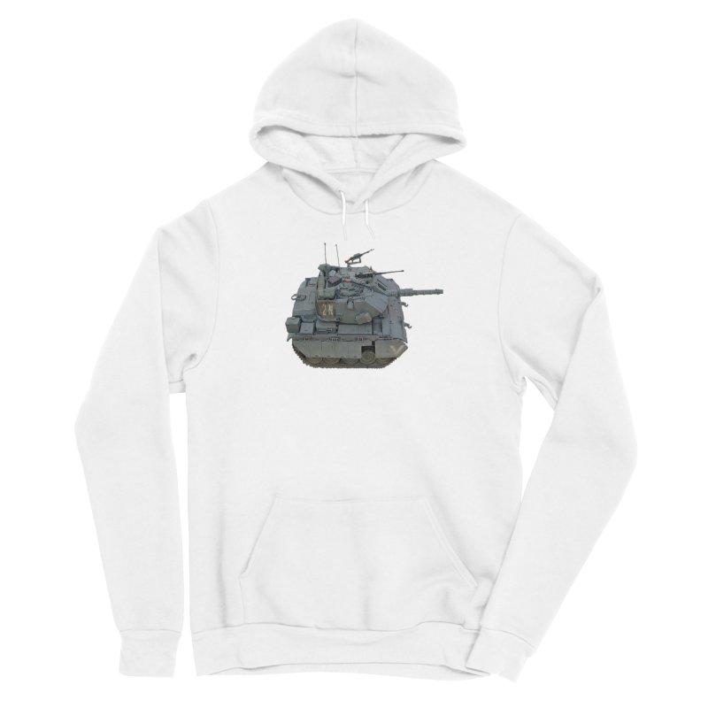 Magach 7C Mini Men's Sponge Fleece Pullover Hoody by Pixel Panzers's Merchandise