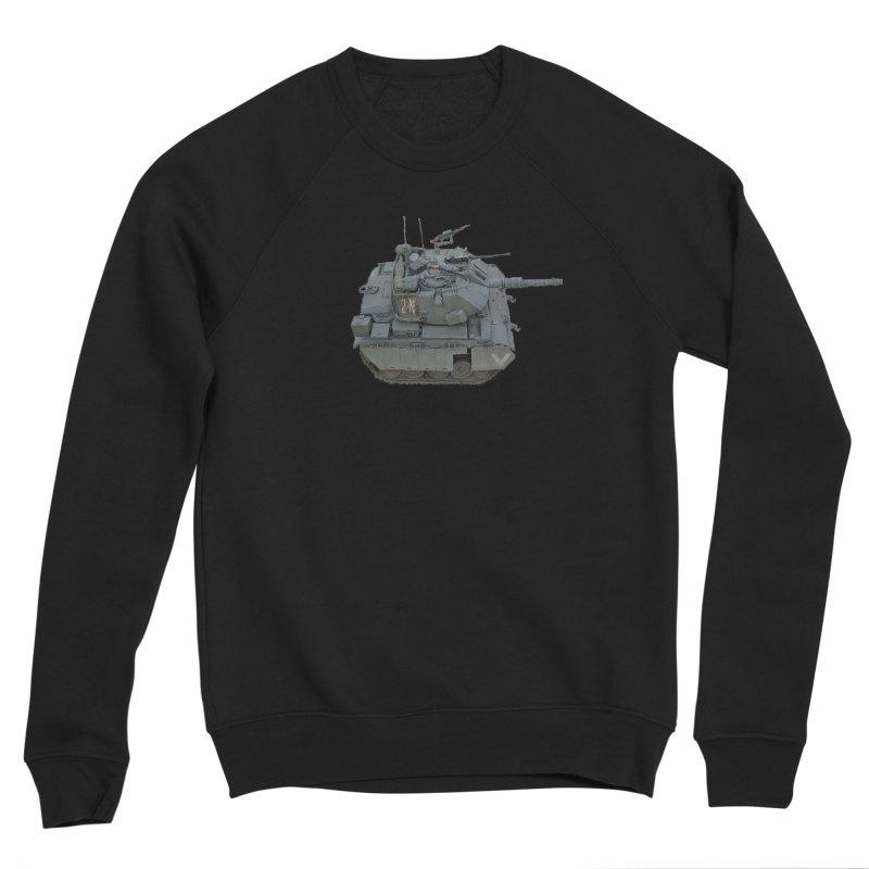 Magach 7C Mini Men's Sponge Fleece Sweatshirt by Pixel Panzers's Merchandise
