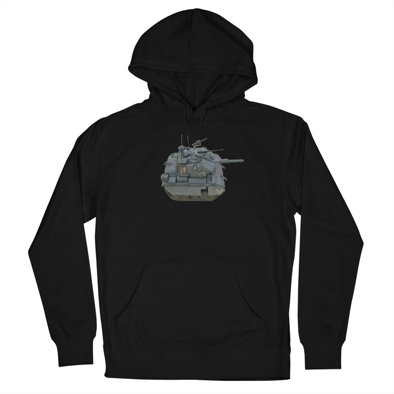 Magach 7C Mini Men's French Terry Pullover Hoody by Pixel Panzers's Merchandise
