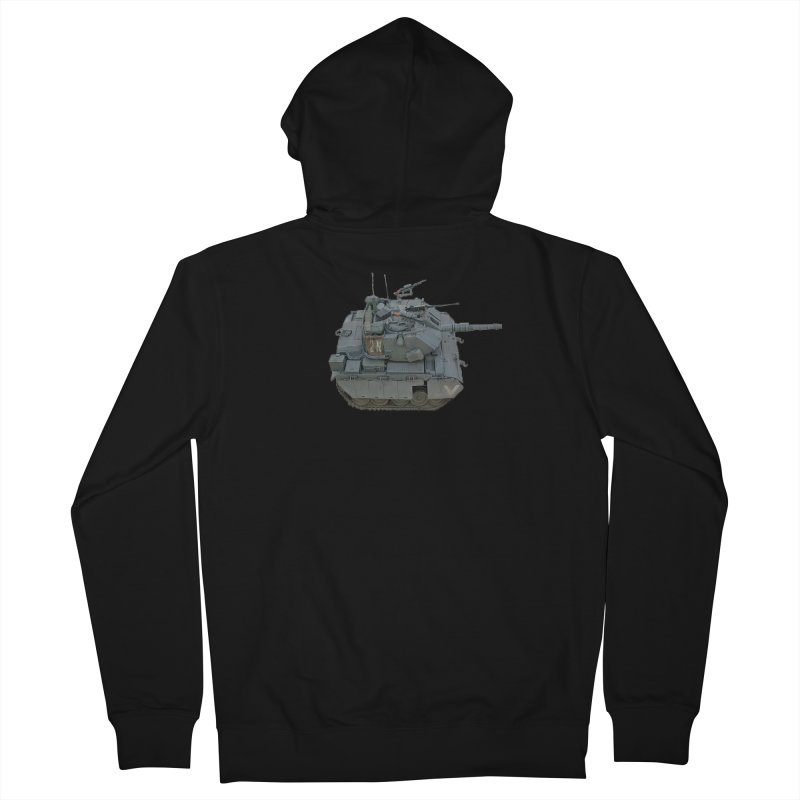 Magach 7C Mini Men's French Terry Zip-Up Hoody by Pixel Panzers's Merchandise