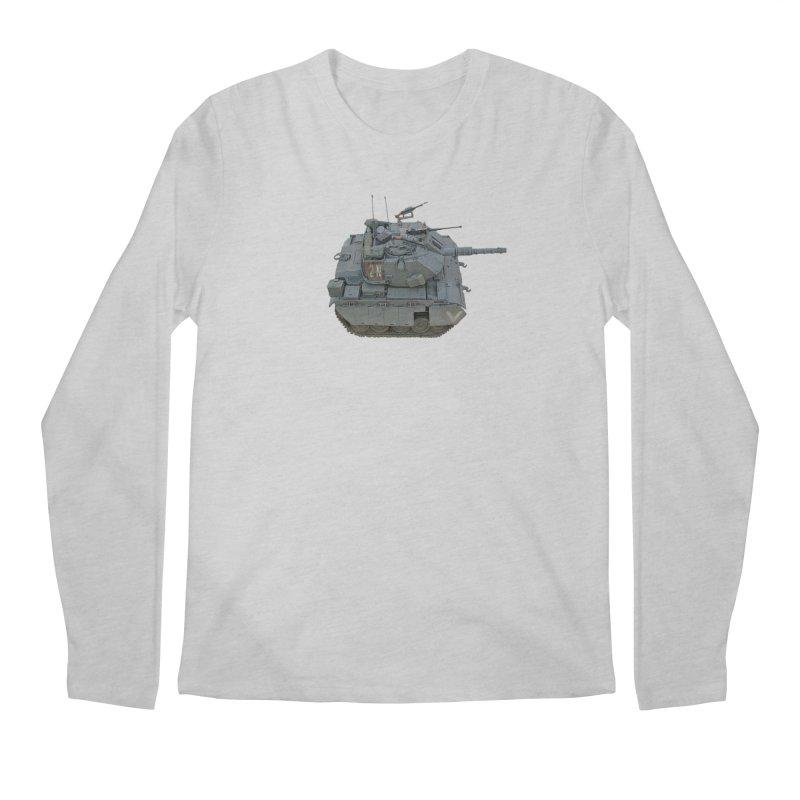 Magach 7C Mini Men's Regular Longsleeve T-Shirt by Pixel Panzers's Merchandise