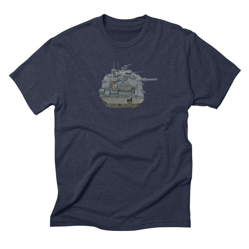 Magach 7C Mini Men's Triblend T-Shirt by Pixel Panzers's Merchandise