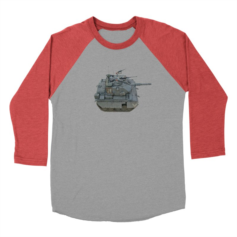 Magach 7C Mini Men's Baseball Triblend Longsleeve T-Shirt by Pixel Panzers's Merchandise