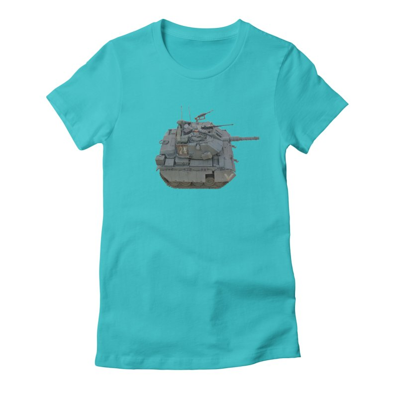 Magach 7C Mini Women's Fitted T-Shirt by Pixel Panzers's Merchandise
