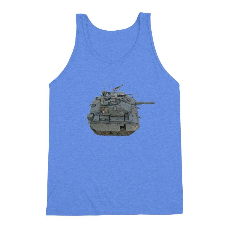 Magach 7C Mini Men's Triblend Tank by Pixel Panzers's Merchandise