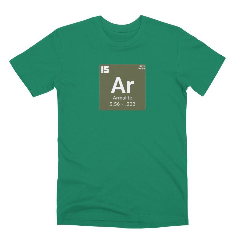 AR-15 Armalite Periodic Table Men's Premium T-Shirt by Pixel Panzers's Merchandise
