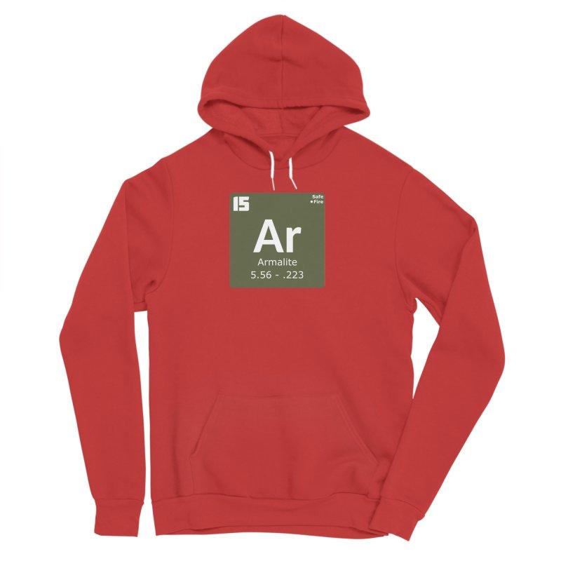 AR-15 Armalite Periodic Table Men's Sponge Fleece Pullover Hoody by Pixel Panzers's Merchandise