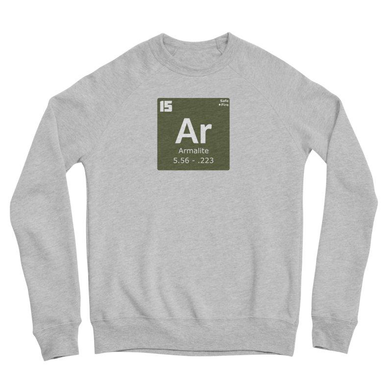 AR-15 Armalite Periodic Table Men's Sponge Fleece Sweatshirt by Pixel Panzers's Merchandise