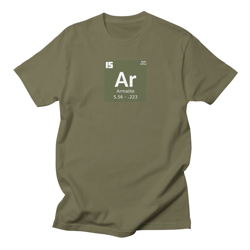 AR-15 Armalite Periodic Table Women's Regular Unisex T-Shirt by Pixel Panzers's Merchandise