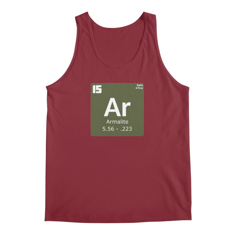 AR-15 Armalite Periodic Table Men's Regular Tank by Pixel Panzers's Merchandise