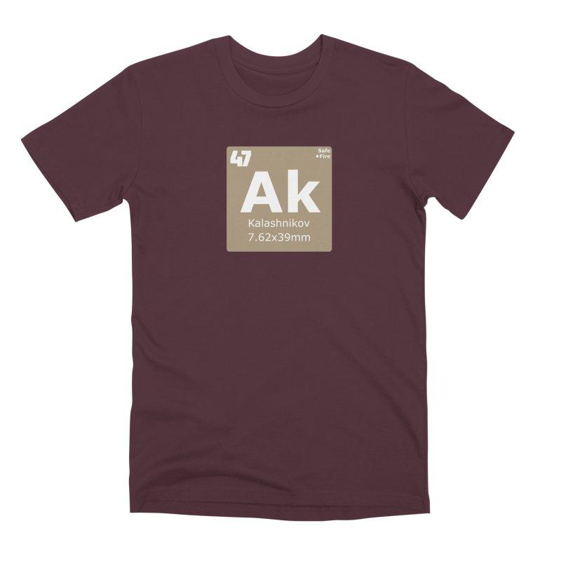 AK-47 Kalashnikov Periodic Table Men's Premium T-Shirt by Pixel Panzers's Merchandise