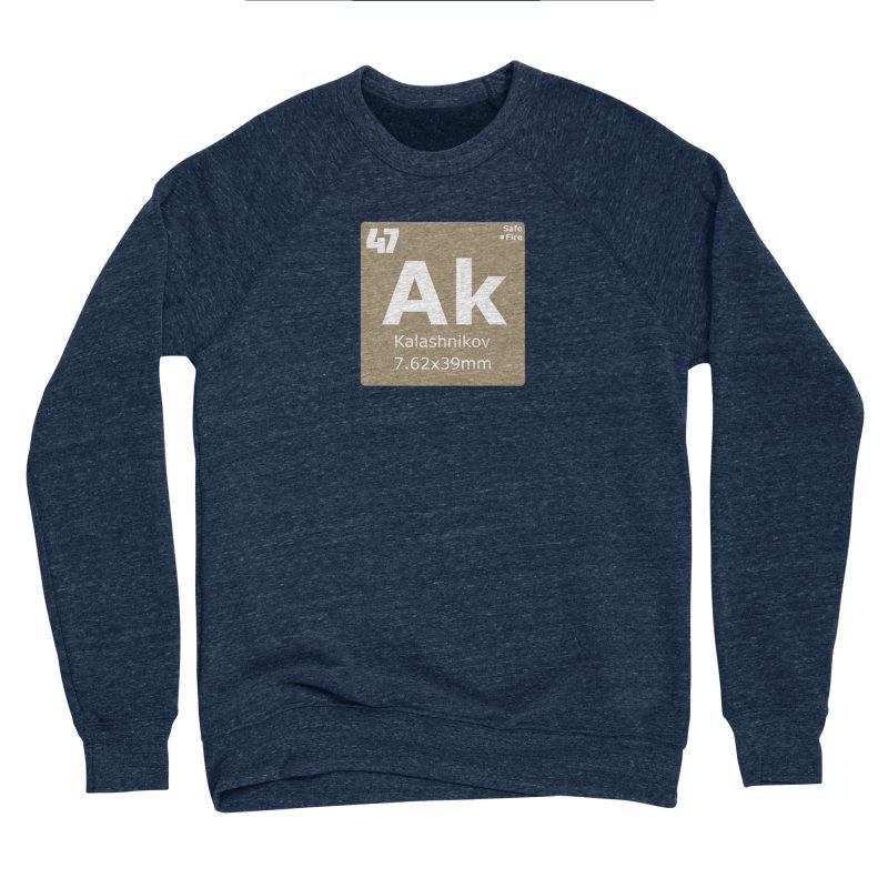AK-47 Kalashnikov Periodic Table Men's Sponge Fleece Sweatshirt by Pixel Panzers's Merchandise