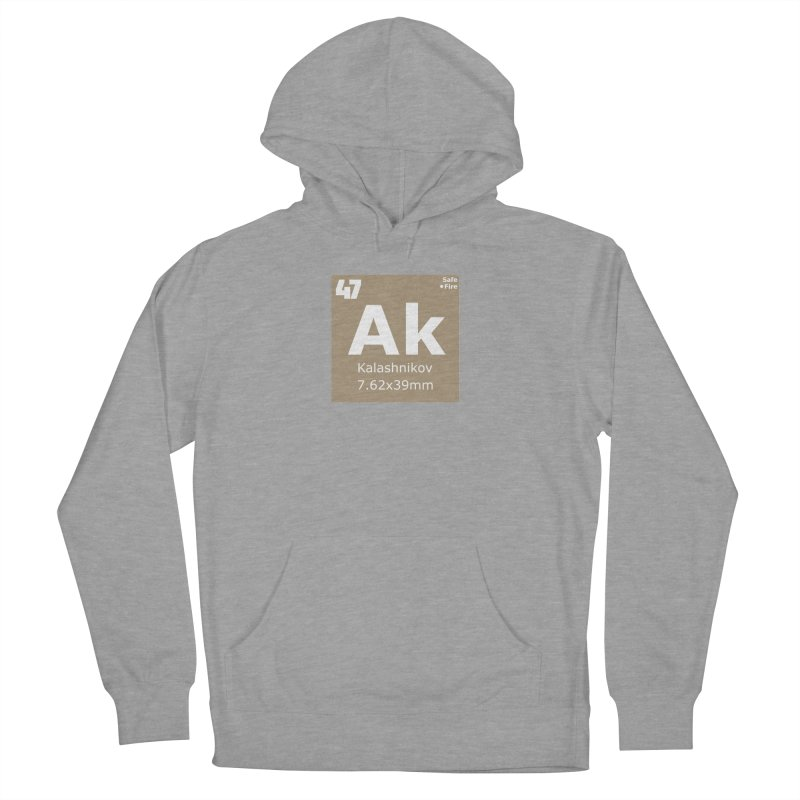 AK-47 Kalashnikov Periodic Table Men's French Terry Pullover Hoody by Pixel Panzers's Merchandise