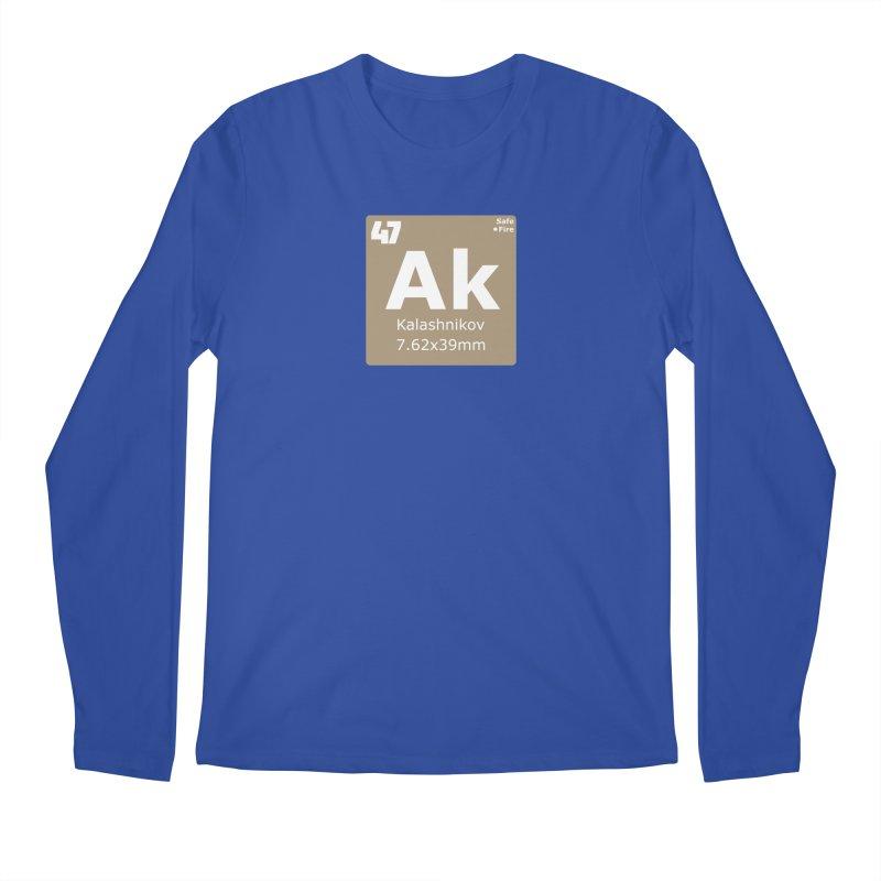 AK-47 Kalashnikov Periodic Table Men's Regular Longsleeve T-Shirt by Pixel Panzers's Merchandise