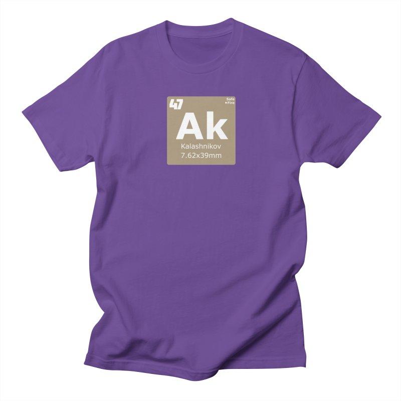 AK-47 Kalashnikov Periodic Table Men's Regular T-Shirt by Pixel Panzers's Merchandise