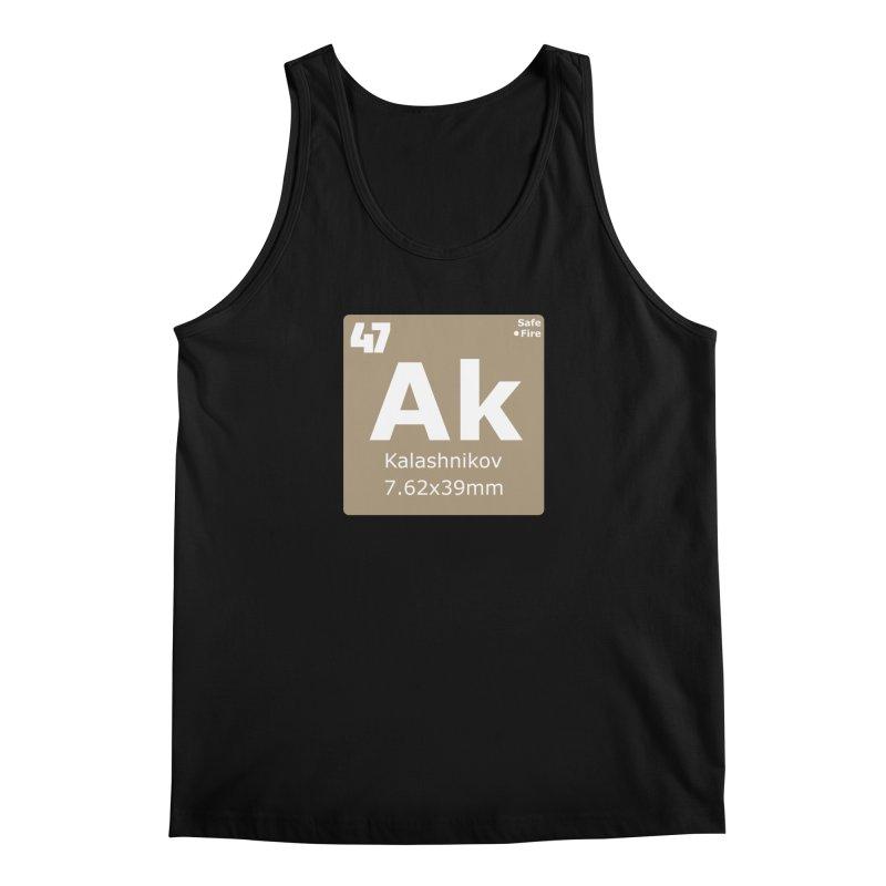 AK-47 Kalashnikov Periodic Table Men's Regular Tank by Pixel Panzers's Merchandise