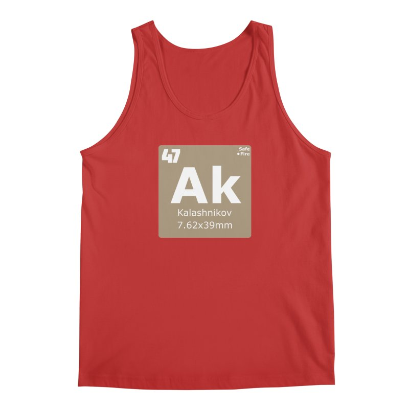 AK-47 Kalashnikov Periodic Table Men's Regular Tank by Pixel Panzers's Merchandise