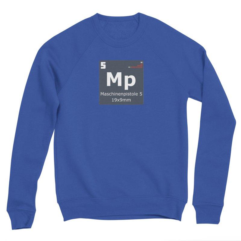 MP5 SubMachine Gun Periodic Table Men's Sponge Fleece Sweatshirt by Pixel Panzers's Merchandise