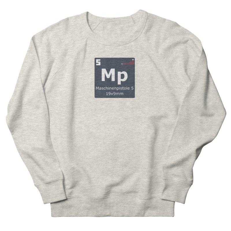 MP5 SubMachine Gun Periodic Table Men's French Terry Sweatshirt by Pixel Panzers's Merchandise