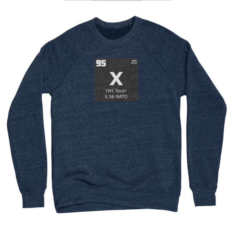IWI X95 TAVOR Periodic Table Design Men's Sponge Fleece Sweatshirt by Pixel Panzers's Merchandise