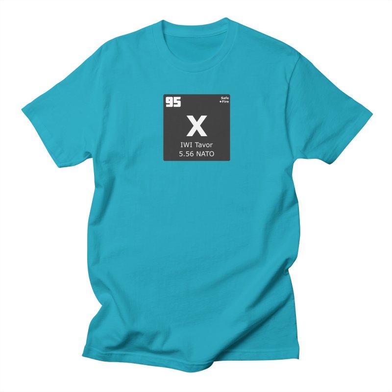 IWI X95 TAVOR Periodic Table Design Men's Regular T-Shirt by Pixel Panzers's Merchandise