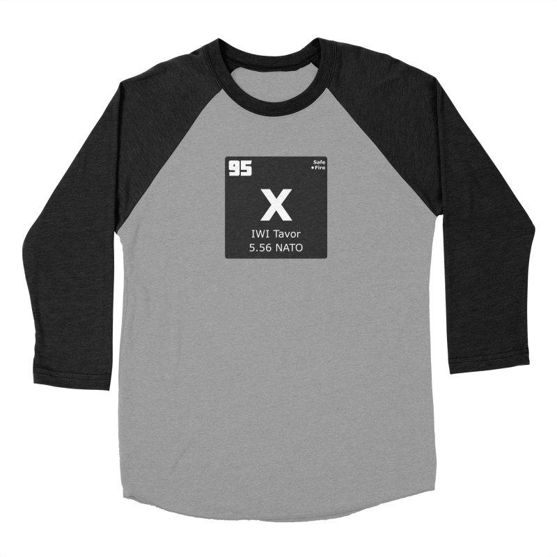 IWI X95 TAVOR Periodic Table Design Men's Baseball Triblend Longsleeve T-Shirt by Pixel Panzers's Merchandise