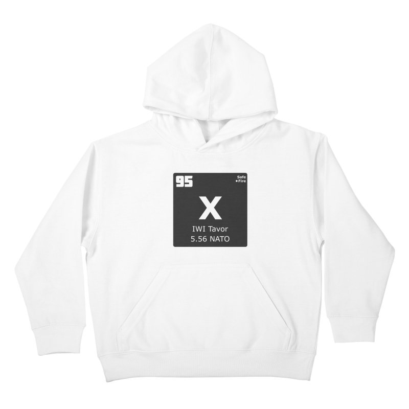 IWI X95 TAVOR Periodic Table Design Kids Pullover Hoody by Pixel Panzers's Merchandise
